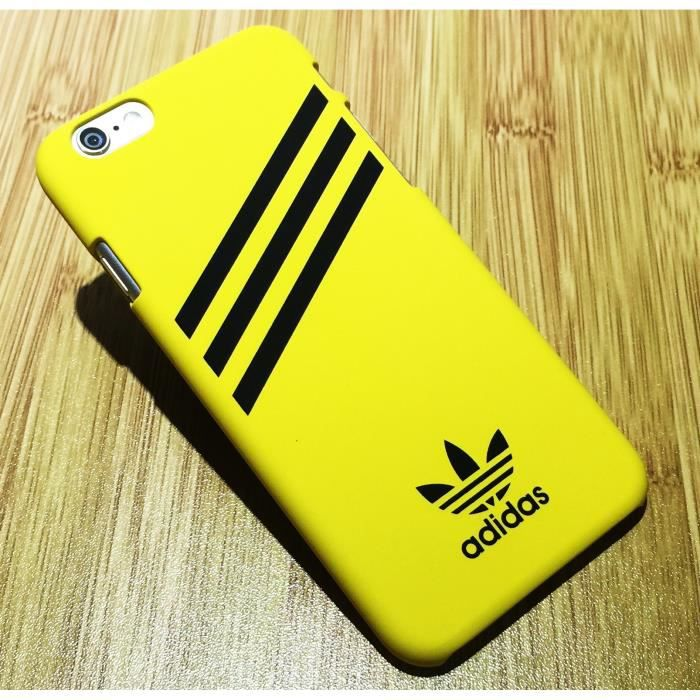adidas coque iphone 8 plus 8s plus jaune