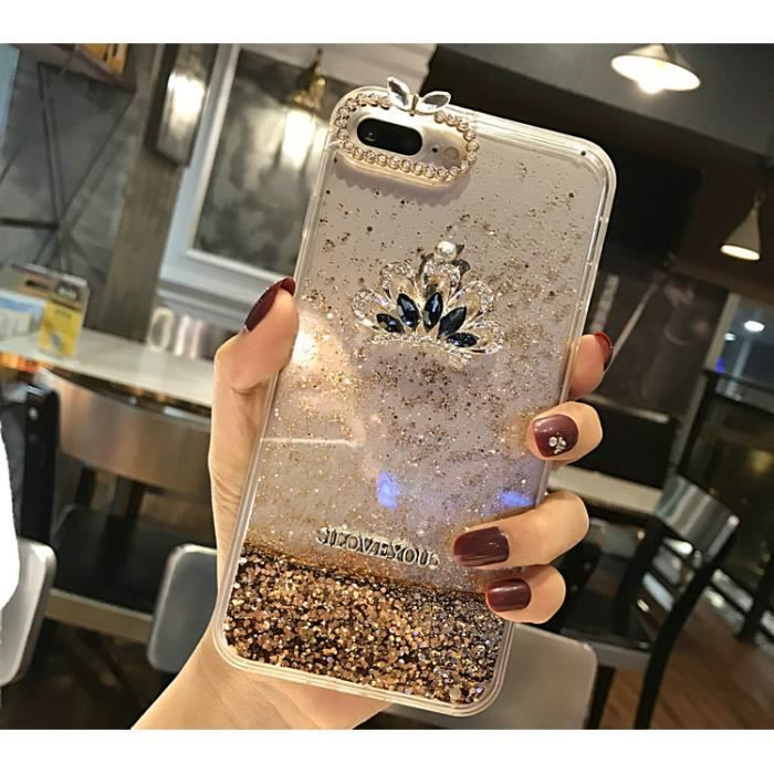 coque iphone 8 diamant