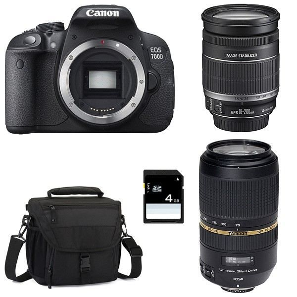 canon eos 700d objectif ef s 18 200 mm f 3 5 achat. Black Bedroom Furniture Sets. Home Design Ideas