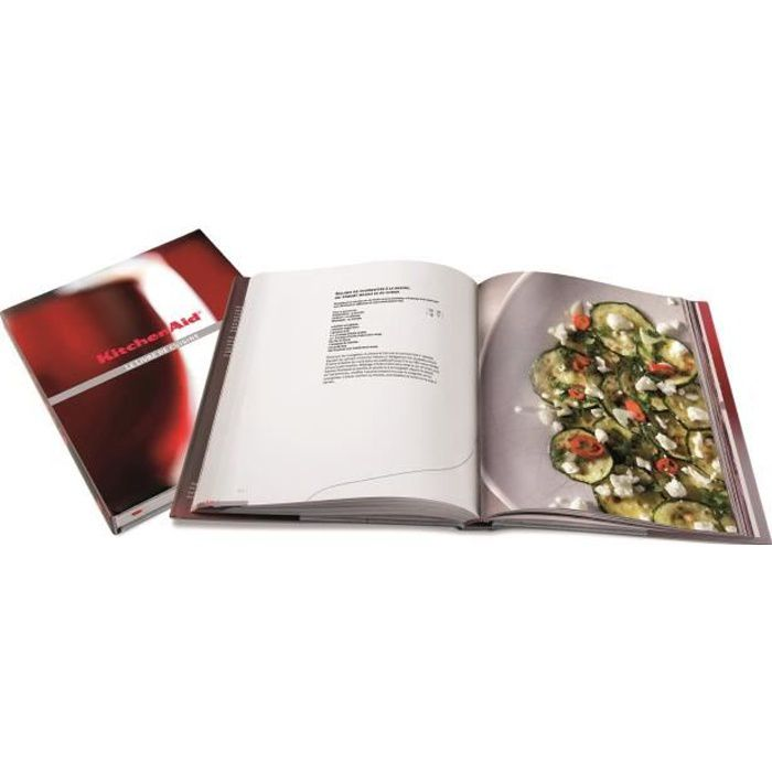Kitchenaid Cbshopfr Livre De Recettes Francais Dedie Au Robot 5ksm150ps 156