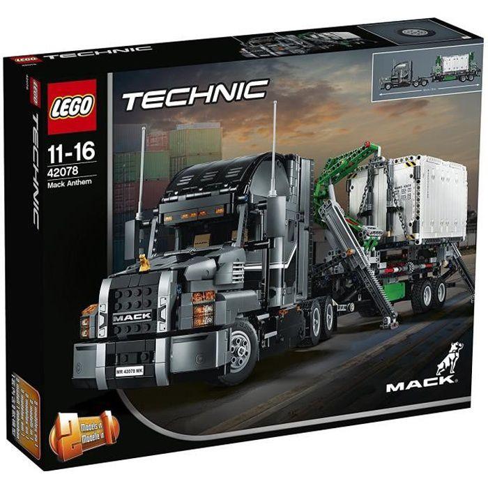 ASSEMBLAGE CONSTRUCTION LEGO® Technic 42078 Mack® Anthem™