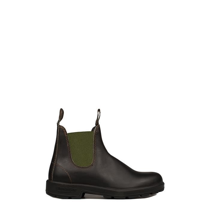 BLUNDSTONE HOMME BCCAL01380519888 MARRON CUIR BOTTINES