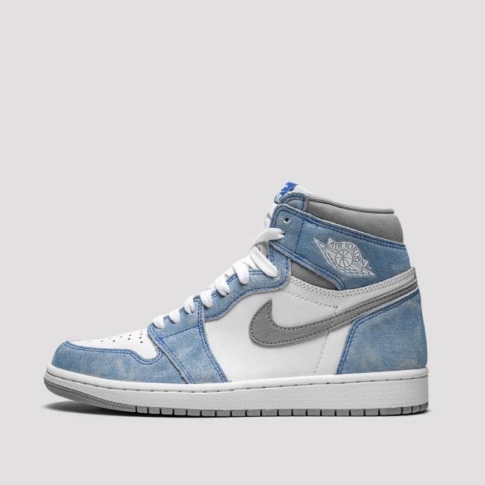 Basket Air Jordan 1 University Blue 555088-134 Pou