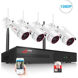 CAMÉRA DE SURVEILLANCE Caméras de vidéosurveillance sans fil extérieure A