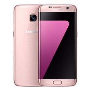 SMARTPHONE RECOND. Galaxy S7 32Go SM-G935 edge Reconditionné Rose  To