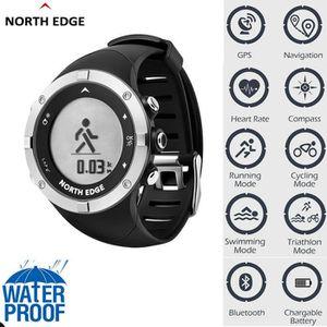 MONTRE CONNECTÉE RECONDITIONNÉE NORTH EDGE Montre de sport intelligente Heure GPS