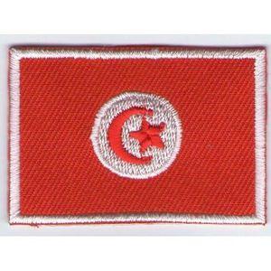 RENFORT - PATCH ECUSSON PATCH THERMOCOLLANT DRAPEAU TUNISIE 4,5 X