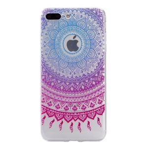 coque iphone 6 mandala bleu