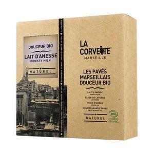 SAVON - SYNDETS Coffret cadeau Les pavés marseillais douceur bio -