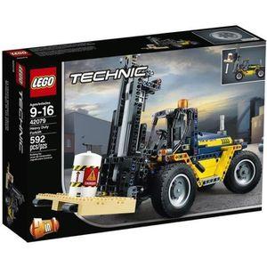 ASSEMBLAGE CONSTRUCTION LEGO® Technic 42079 Le chariot élévateur
