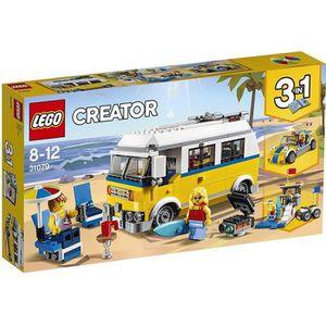 ASSEMBLAGE CONSTRUCTION LEGO® Creator 3-en-1 31079 Le van des surfeurs - J