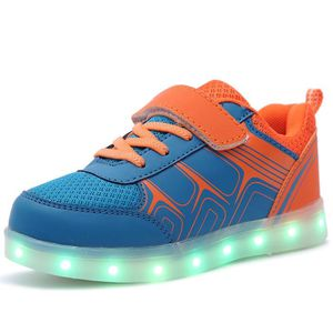 BASKET Baskets led Lumineuses Chaussures de Sport Clignot
