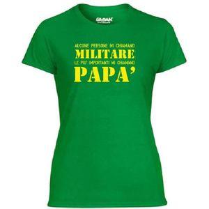 T-SHIRT T-shirt Femme T1090 alcune persone mi chiamano mil