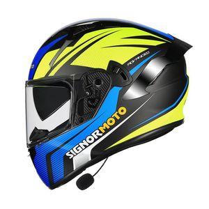 CASQUE MOTO SCOOTER Casque de Moto Adulte cross de Marque Unisex Diffé
