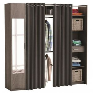 armoire profondeur 50 cm achat vente pas cher. Black Bedroom Furniture Sets. Home Design Ideas