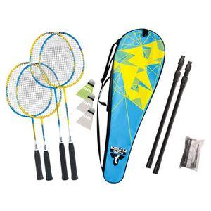 KIT BADMINTON TALBOT TORRO Set de Badminton Family - 4 raquettes