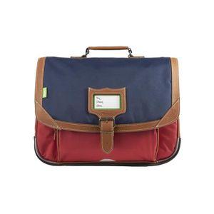 CARTABLE Tann's - Cartable bleu et rouge 38cm CE1/CE2 Amste