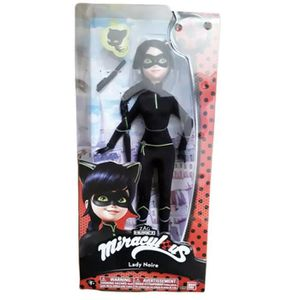 FIGURINE - PERSONNAGE Miraculous figurine Lady noire 26cm