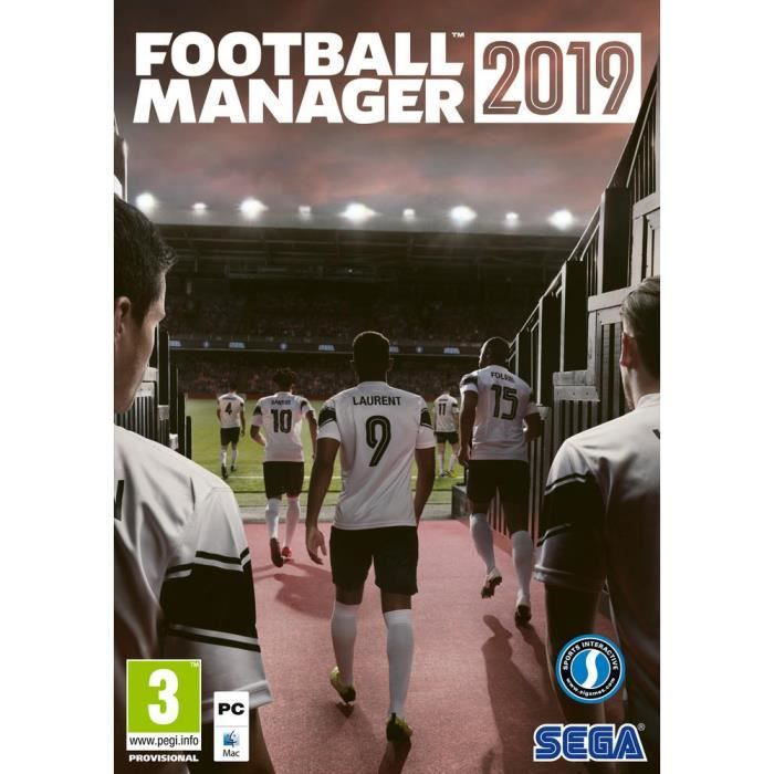 Football Manager 2019 Jeu PC