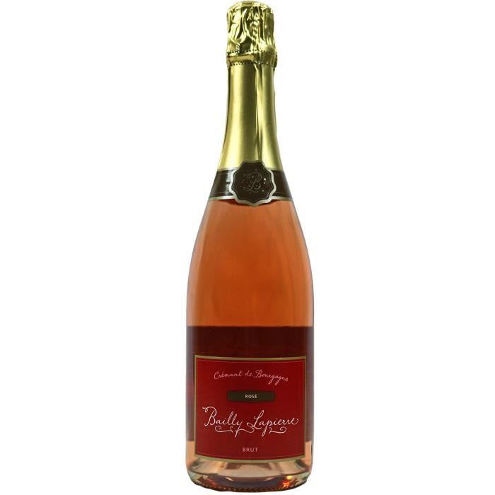 Crémant de Bourgogne, Rosé, Bailly-Lapierre, Brut - Vin Rosé