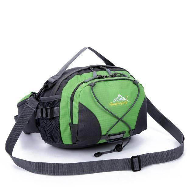 Sac à dos de ceinture de course imperméable à la taille Fanny Pack Sport randonnée G2A659