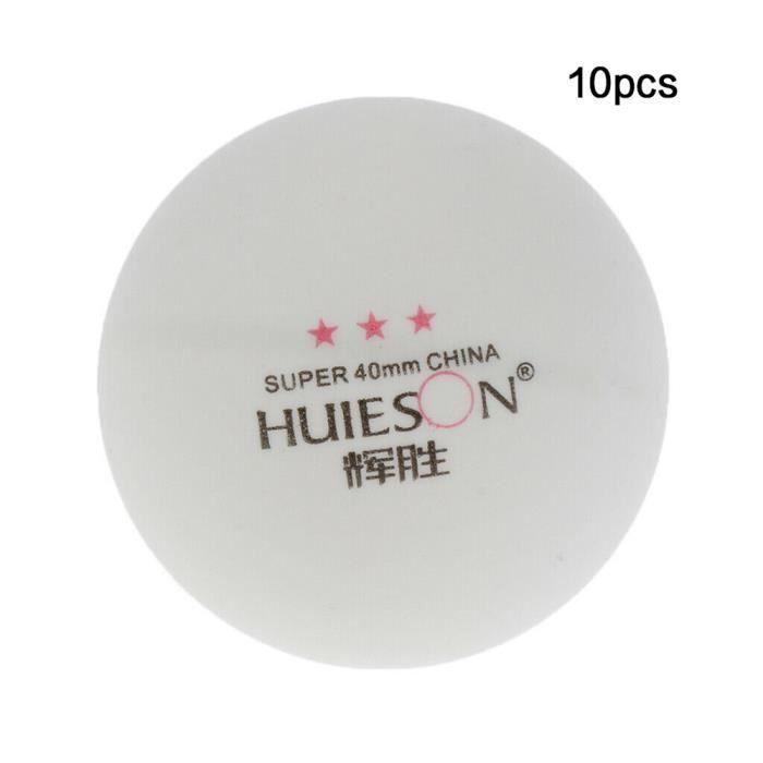10pcs balles de tennis de table 3 étoiles 40 mm balles de ping-pong formation balle de ping-pong