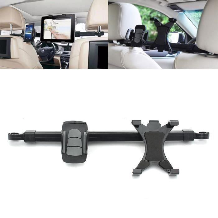 360° Rotation Support Télescopique Appui-Tête Porte Tablette Phone Voiture Auto Voyage Bo17535