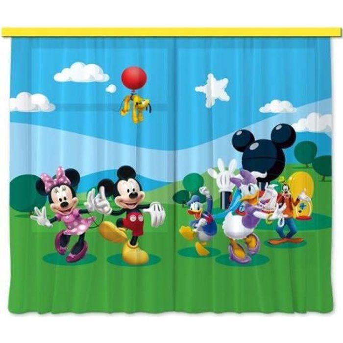 Disney Mickey Mouse Rideau Voilage Pour la Chambre