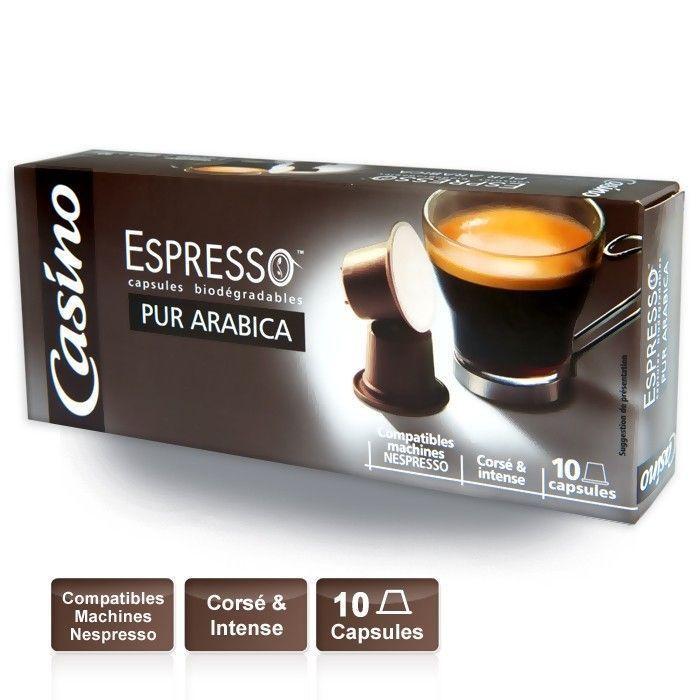 CASINO Espresso Pur Arabica
