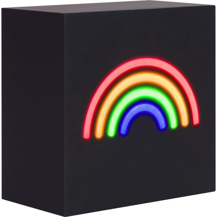 Colorblock Lampe-enceinte sans fil Neon Arc-en-ciel