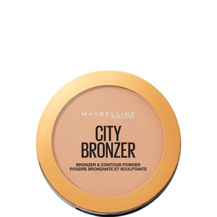 Maybelline MAY FS CITY BRONZE PWD BL 200 MEDIUM CO, Medium Cool, 14 mm, 85 mm, 115 mm, 53 g
