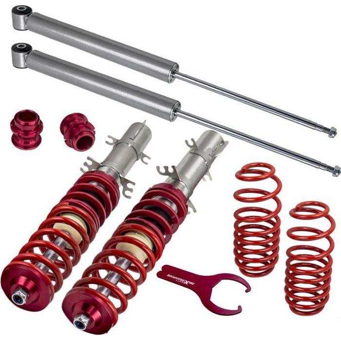 Kit Combinés Filetés Suspension pour VW Golf IV 1J1/ 1J5 1.4 16V,1.6 16V,1.6 FSI,1.8,1.8 T,1.9 SDI