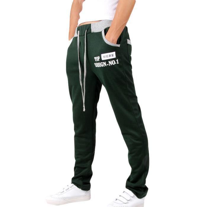 Pantalon Homme de jogging imprimé Pantalon Hommes classique