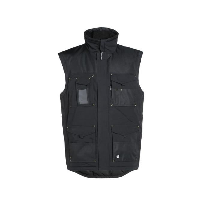GILET SANS MANCHE ALI NOIR - North Ways