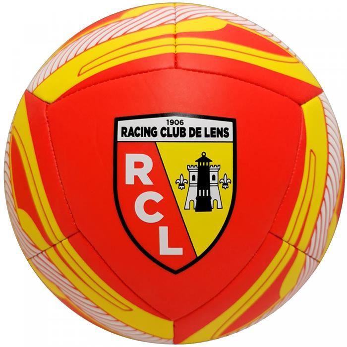 Ballon RC Lens Icon - rouge/jaune - Taille 5