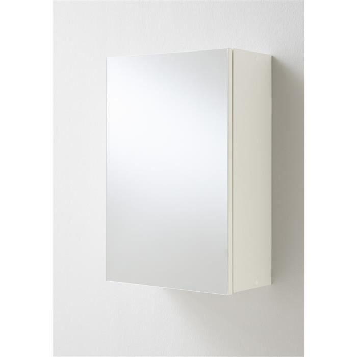 Etagère de salle de bains Elda Blanc