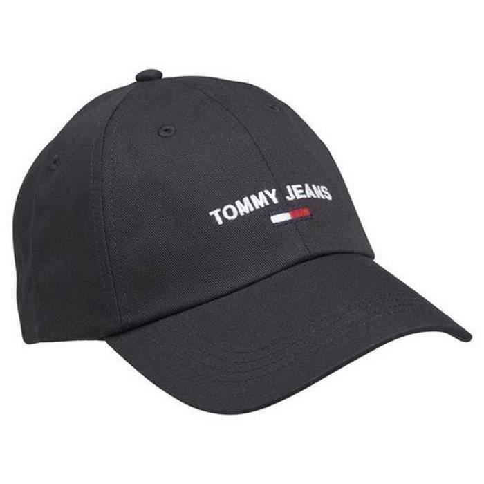 Casquette Noir Tommy Jeans Homme
