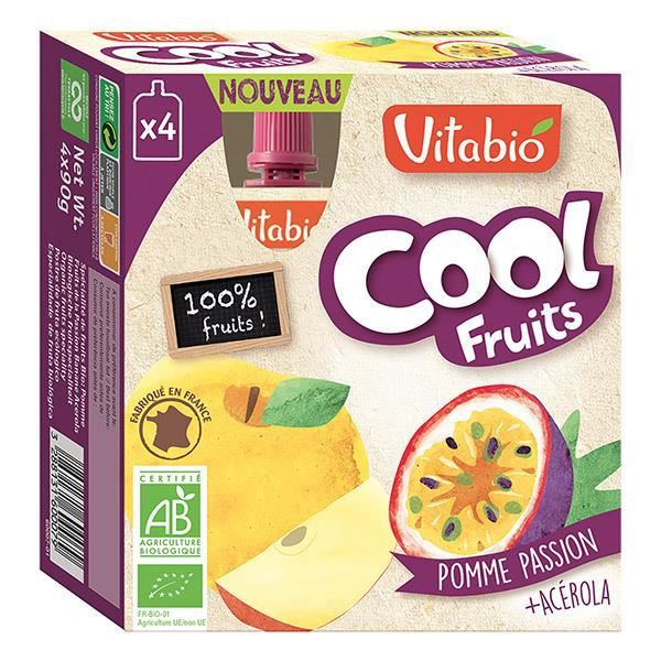 VITABIO - COOL FRUITS POMME PASSION