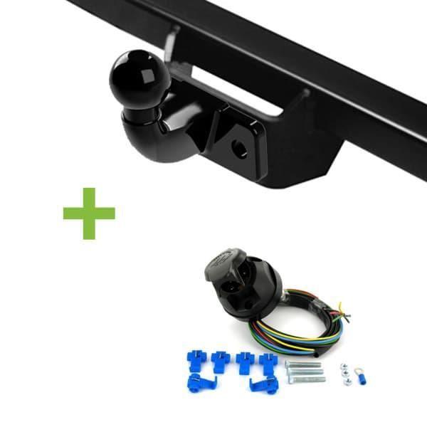 Attelage WABB démontable avec outils + faisceau standard 7 broches pour Renault Koleos 5 portes Pack attelage RDAO-faisceau