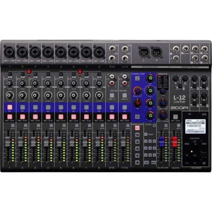 Enregistreur audio Zoom L-12 noir