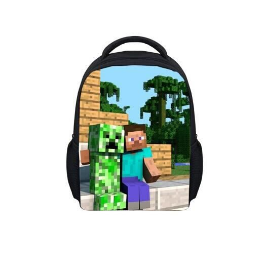 cartable minecraft pack cole gar ons de sport les enfants de sac dos b2 achat vente sac. Black Bedroom Furniture Sets. Home Design Ideas