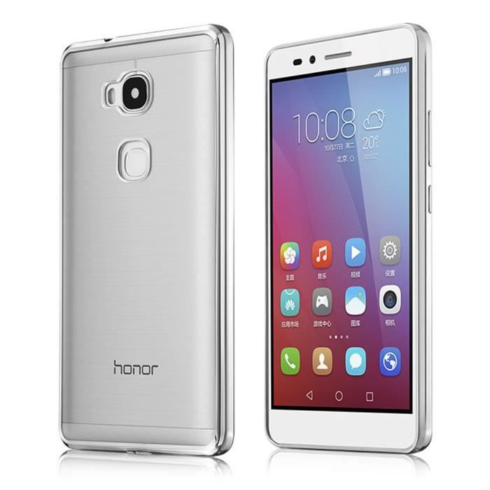 Pour huawei honor 5x play coque housse etui transparente for Housse honor 5x