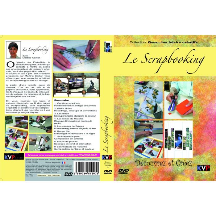 le scrapbooking dvd en dvd documentaire pas cher cdiscount. Black Bedroom Furniture Sets. Home Design Ideas