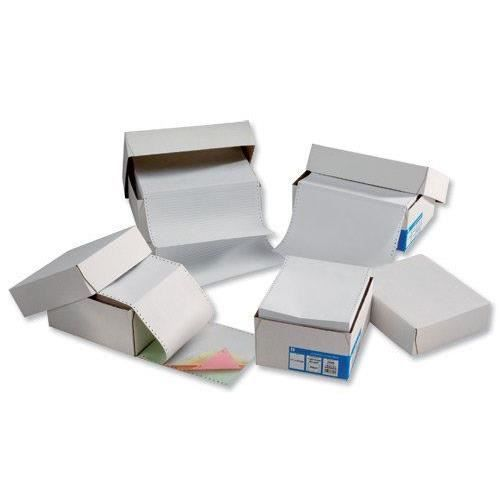 PAPIER IMPRIMANTE Challenge Lot de 2000 feuilles de papier listing m