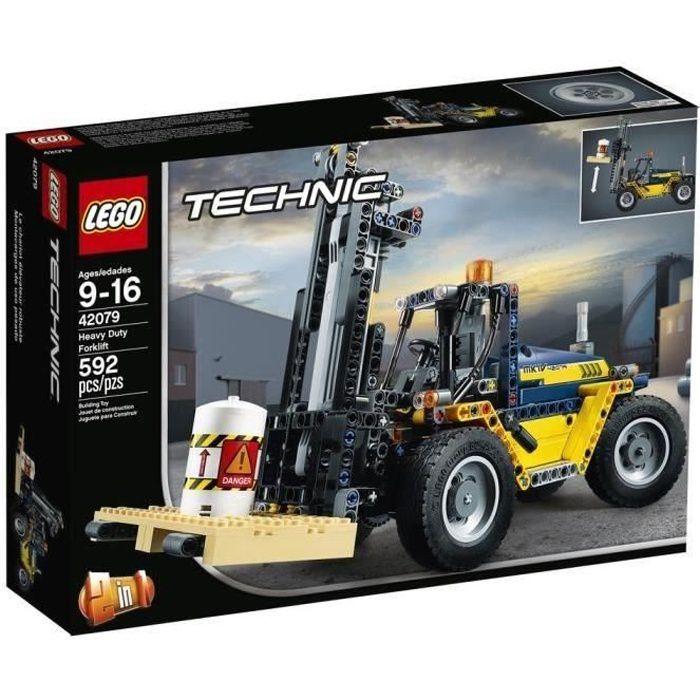ASSEMBLAGE CONSTRUCTION LEGO® Technic 42079 Le chariot élévateur- Jeu de C