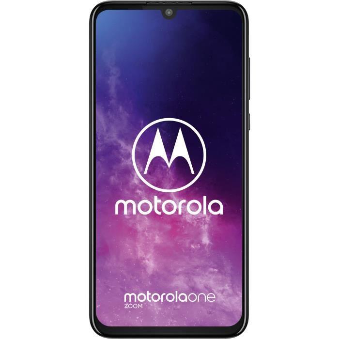 SMARTPHONE MOTOROLA Moto One Zoom DS Gris 128 Go
