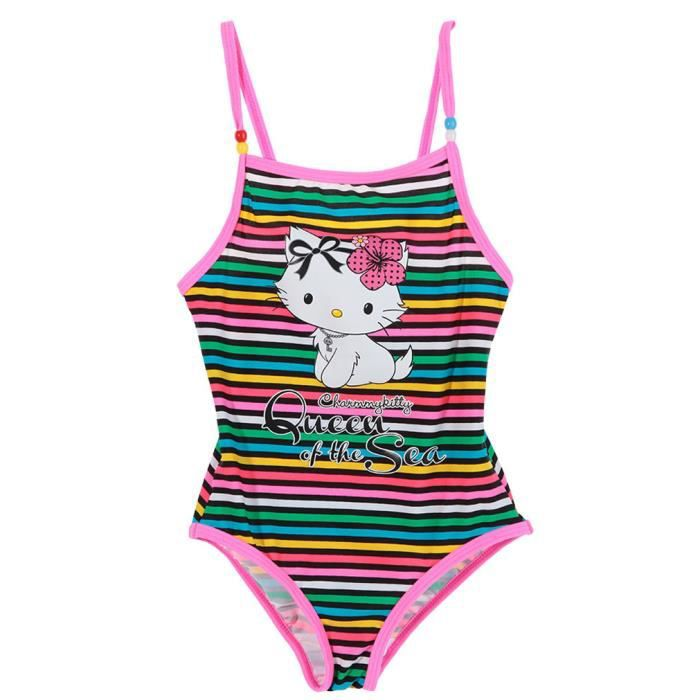 maillot de bain 1 pi ce enfant fille charmmy kitty ray rose vert 3 8ans vert achat vente. Black Bedroom Furniture Sets. Home Design Ideas