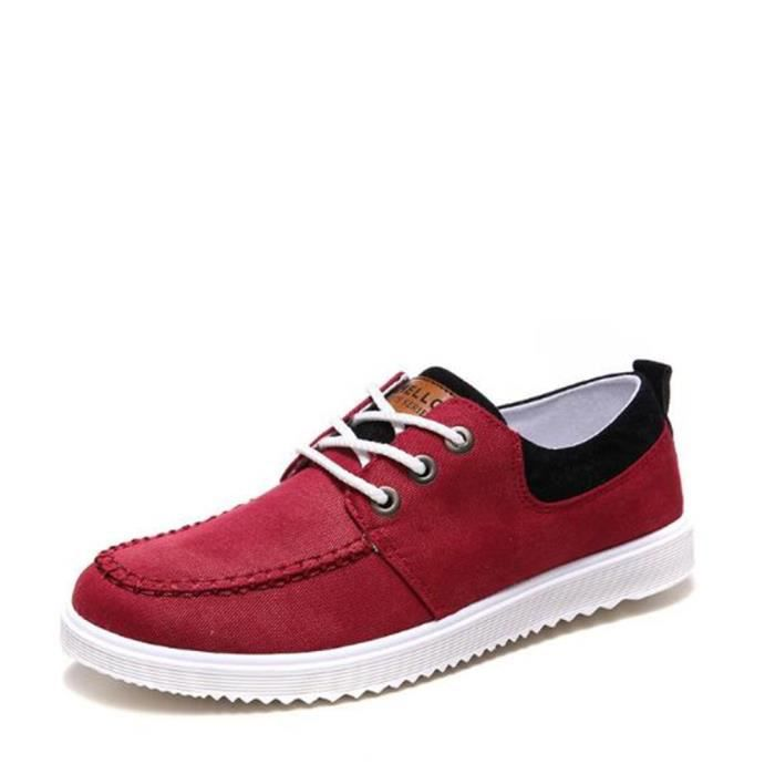 Hommes Sneaker 2017 Nouvelle Mode Chaussure Antidérapant Confortable Sneakers Classique Grande Taille Chaussures Plus Taille 44