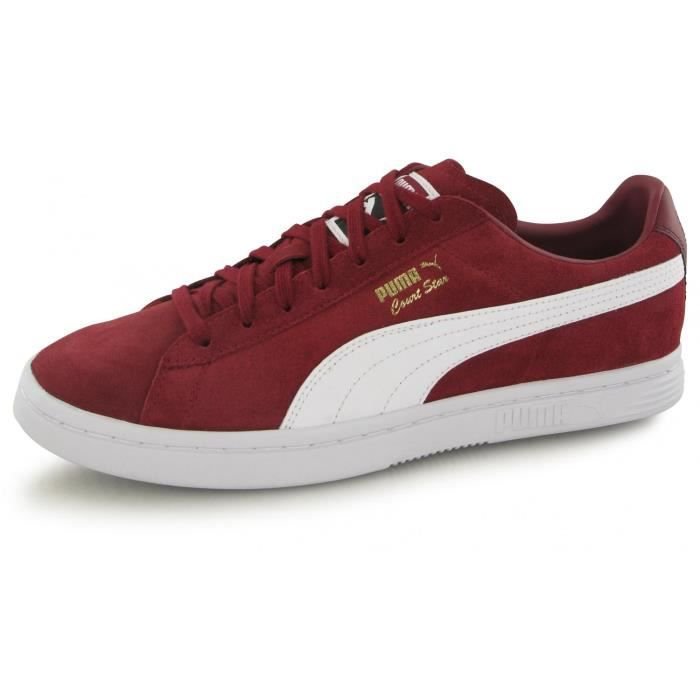 Star Puma Baskets Bordeaux Homme Court Fs IHED29