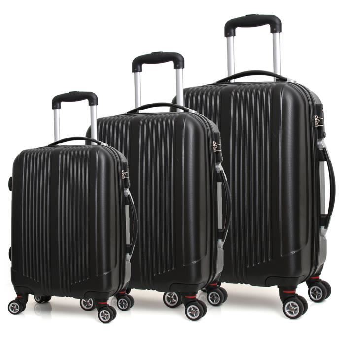 XCASE Ensemble de 4 valises trolley HI1asfHA